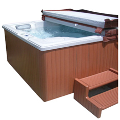 This Easy To Install Cabinet Replacement Kit Gives Old Hot Tubs A New Lease On Life Moisture Resistant Panels In Just Few Hours With Regular